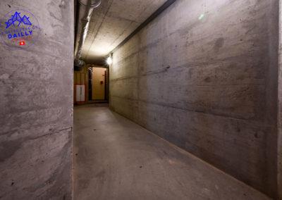 Un long couloir
