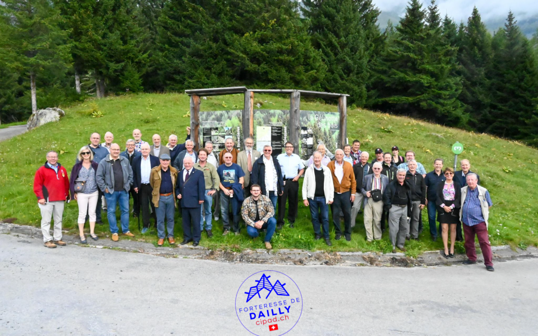 Visite tourelle T2 Dailly